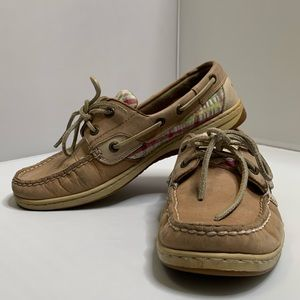 Sperry top-sider Bluefish 2 eye boat shoes sz 8.5